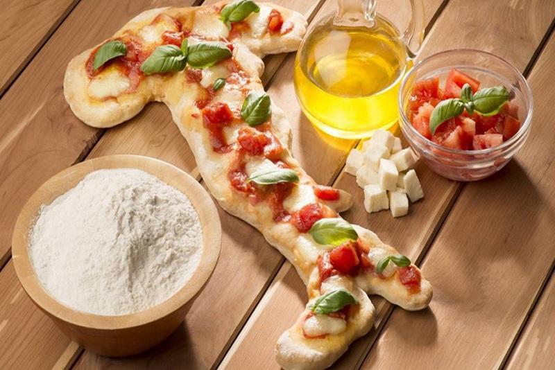 Original pizza usa prodotti italiani