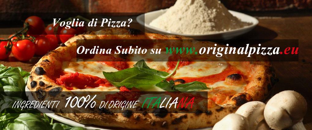 Ordina la tua Pizza online su Original Pizza Olgiate Olona